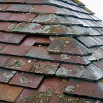 Tower roof – Slipped and missing tiles