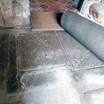 Porch floor – Damp
