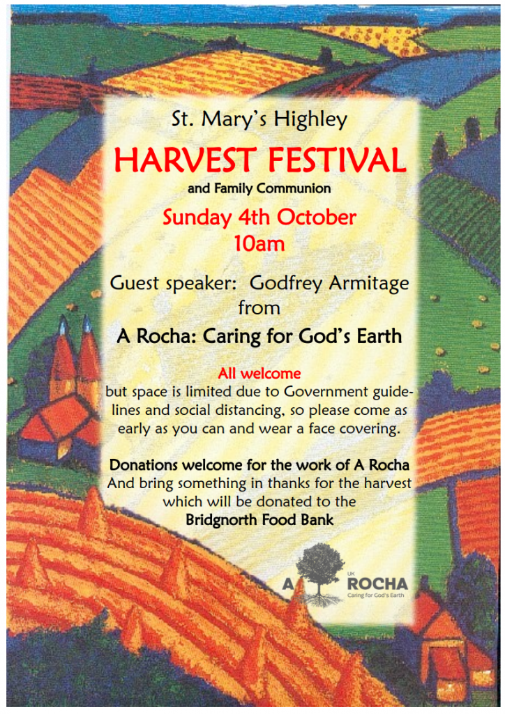 St. Mary's Highley, Harvest Festival