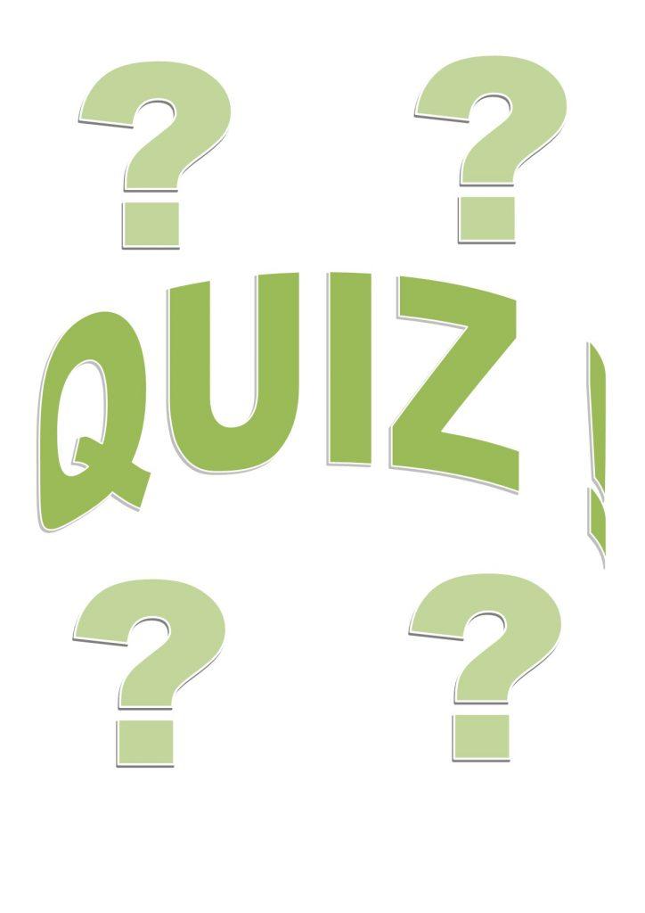 Thursday Evening Quiz