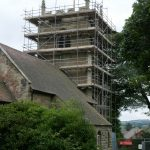Church Tower Scaffolding